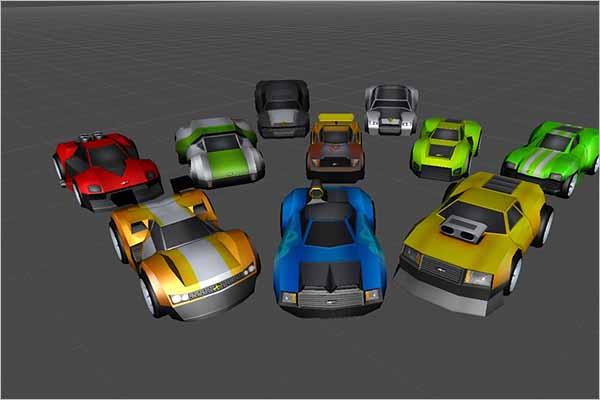 Mega Car 3D Model