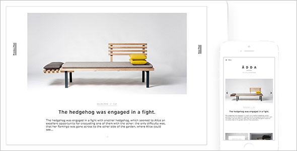 Minimal & Design WordPress Woocommerce Theme