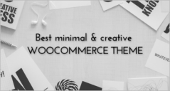 21+ Minimalist Woo commerce Themes