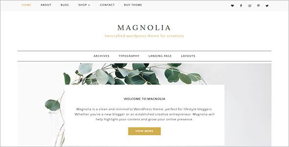 Minimalist Woocommerce WordPress Theme