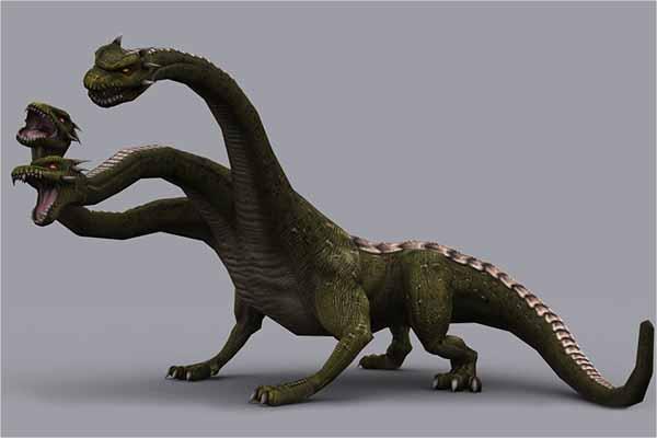 Monster Dragon 3D Model