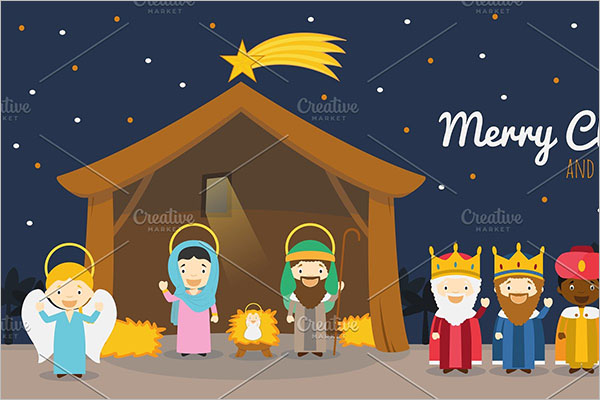 Nativity scene for Christmas Decorations