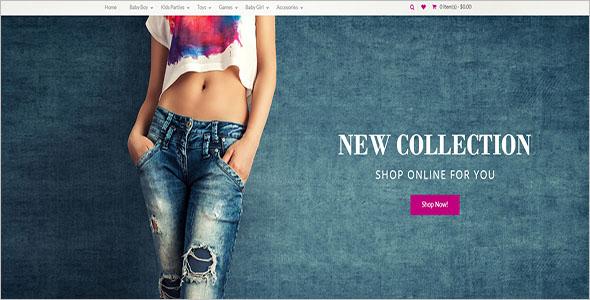 New Fashion Collection WordPress Theme