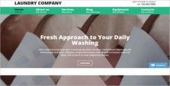 Online Laundry Website Template