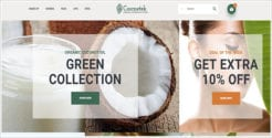 Organic Cosmetics Store PrestaShop Theme
