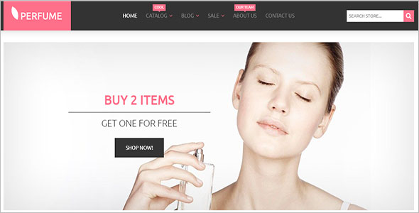 Perfumes Cosmetics Shopify Theme