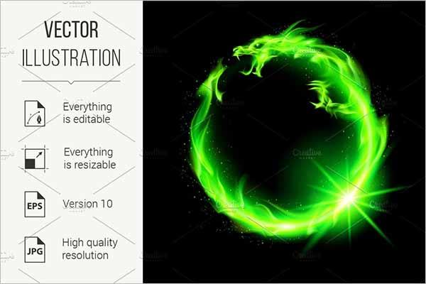 PhotoRealistic 3D Dragon Model