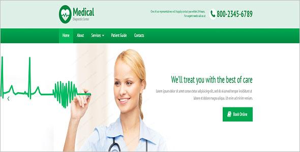 Premium Medical Website Template