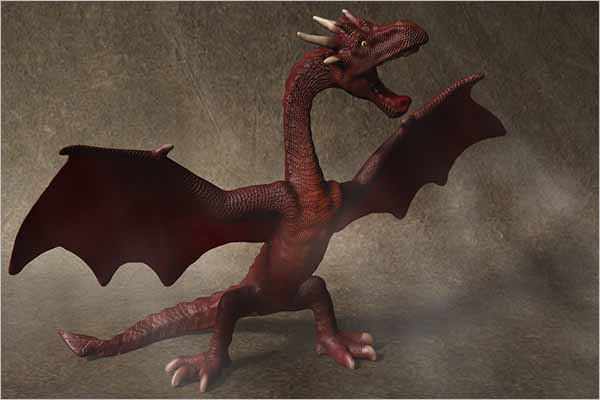 Red Dragon Model Design