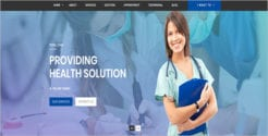 Responsive Health & Medical Template