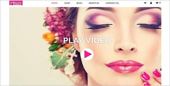 Rise Beauty Cosmetics Shopify Theme
