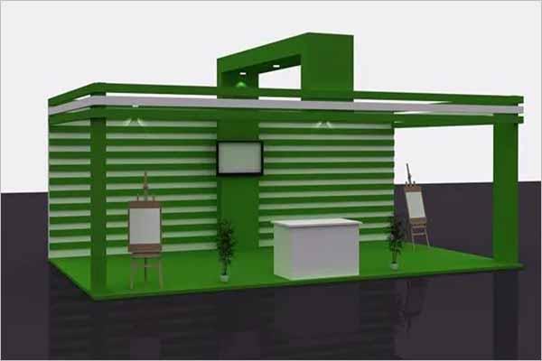 Stall 3D Design Format