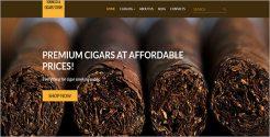 Tobacco Responsive VirtueMart Template