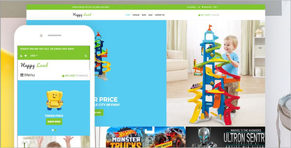 Toy Store Shopify Theme