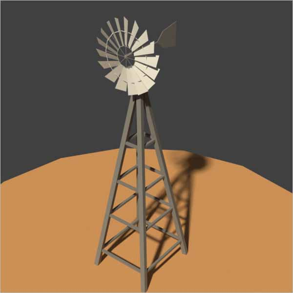 Wind Mill 3D Design