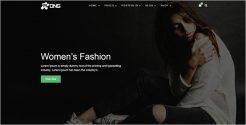 Women's Fashion WordPress Theme