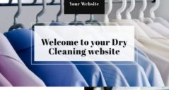 laundry website template