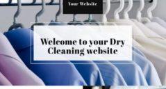 18+ Laundry Website Template