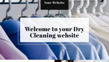 laundry website template