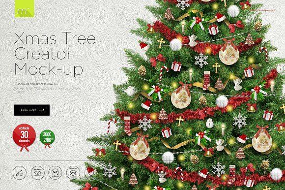 Christmas Tree Creator Mockup