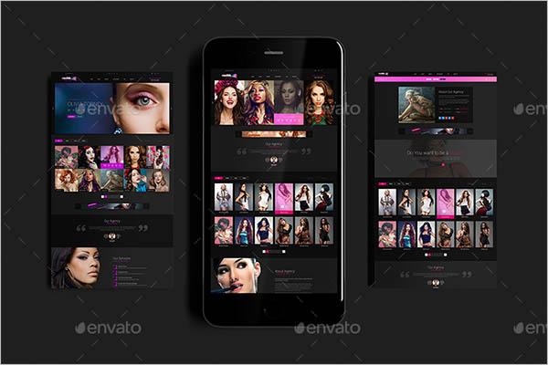 3D Mobile App Screen Mockup