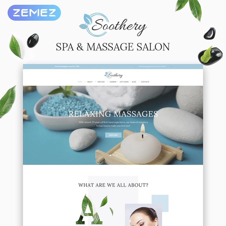 Massage Salon WordPress Theme