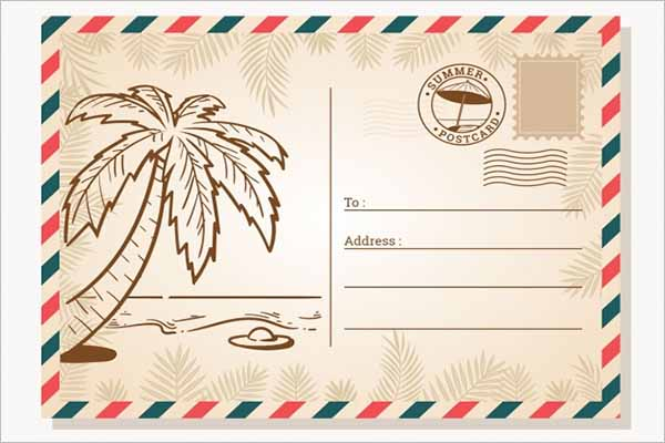 Awesome Holiday Postcard Design
