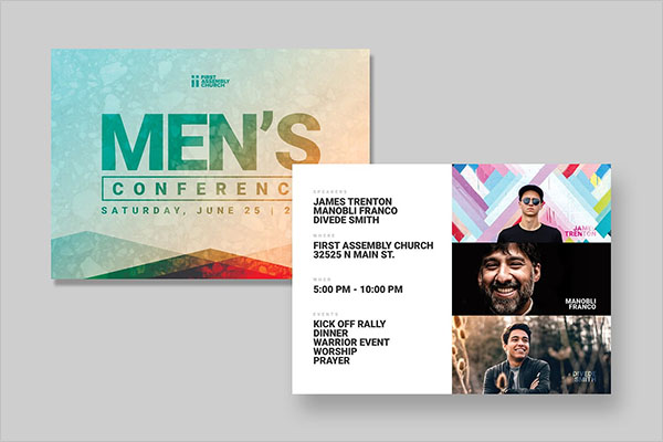 Best Event Postcard Designs