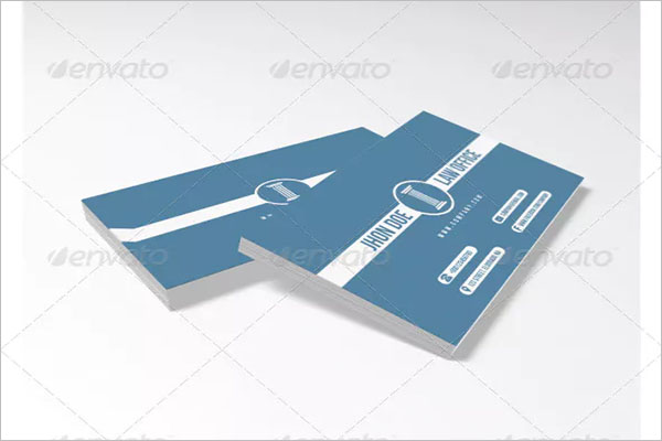 Best Law Office Business Card