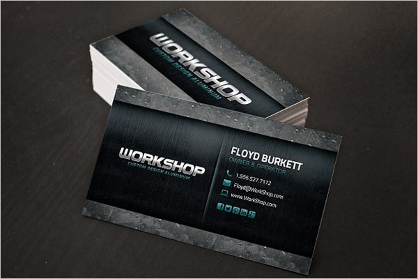Best Metal Business Card Designs