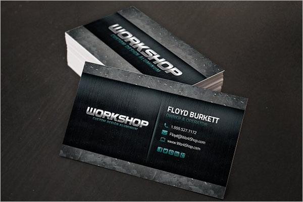 Best Metal Business Card Designs