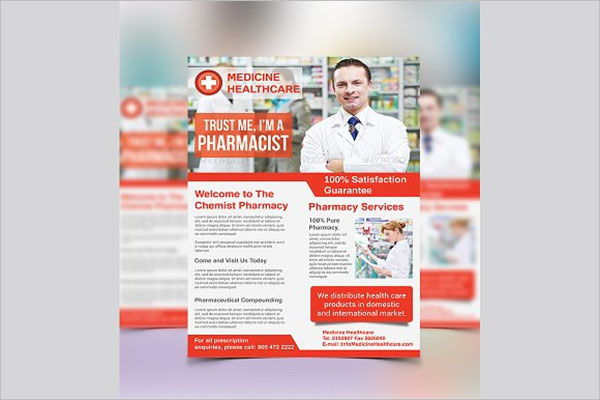 Best Pharmacy Flyer Template