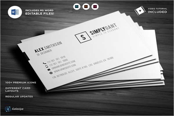 Best Sleek Business Card Designs