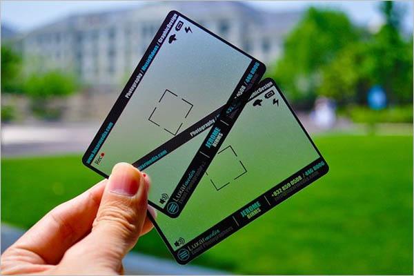 Best Transparent Business Card Design