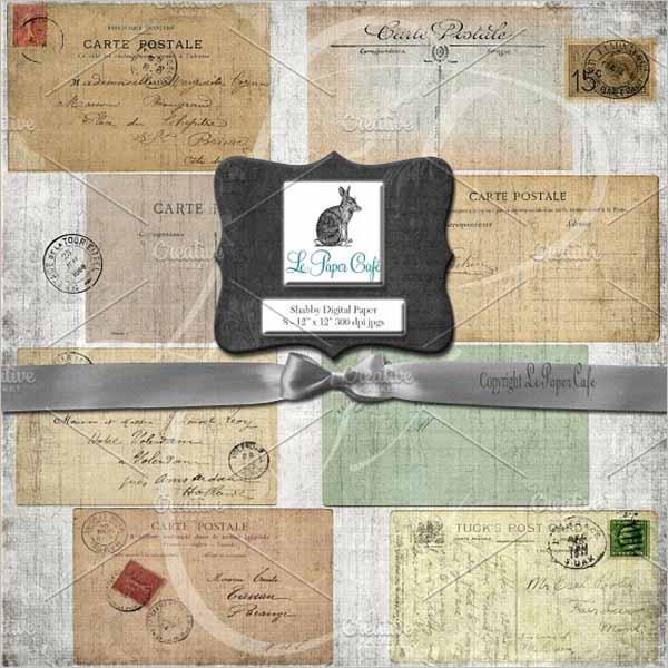 Best vintage postcard Design