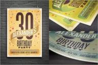 Birthday PostCard Premium Design