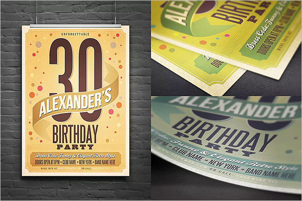 Birthday PostCard Premium Design