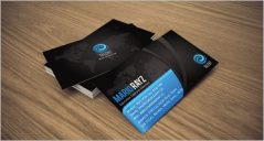 42+ Black Business Card Designs
