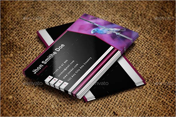 Black Corporate Business Card Bundle