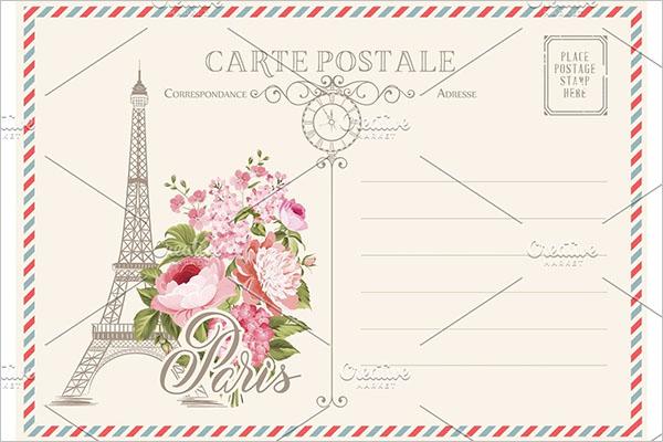 Blank Postcard Creative Design