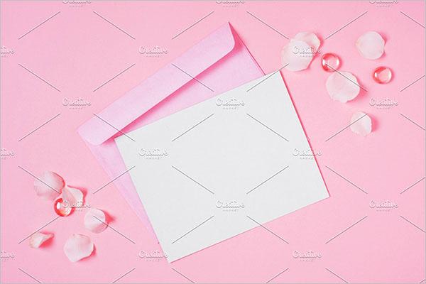 Blank Postcard Simple Design