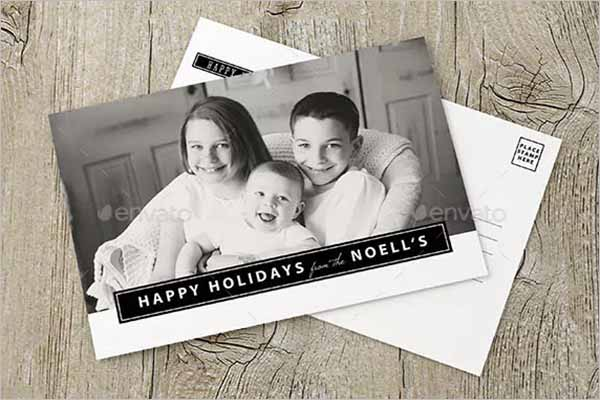 Business Holiday Postcard Design