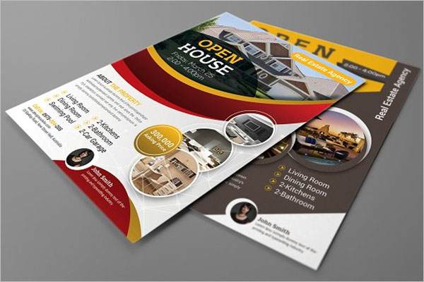 Business Open House Flyer Design