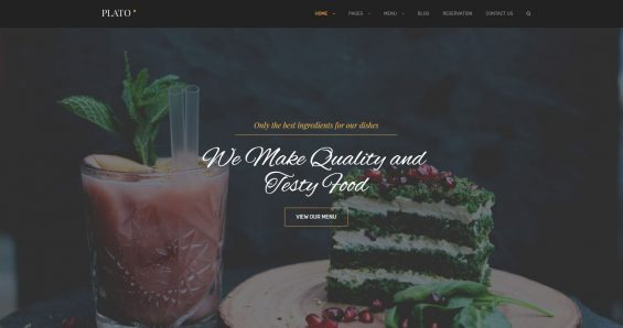 Cafe & Restaurant WordPress