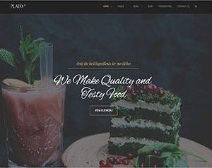 Cafe & Restaurant WordPress Theme
