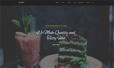 Cafe & Restaurant WordPress Theme
