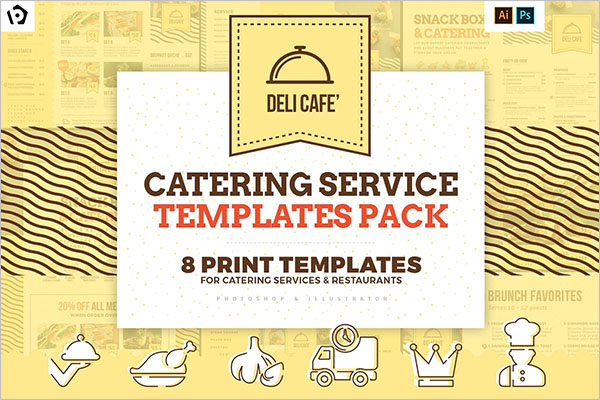 Catering Service Template