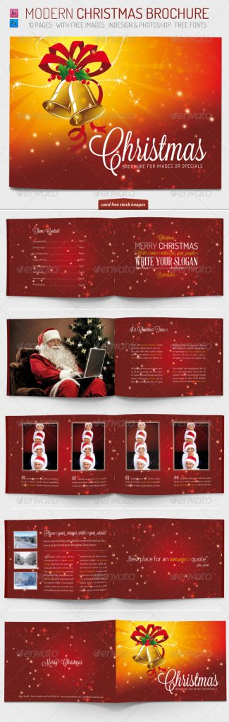 Christmas Brochure Template