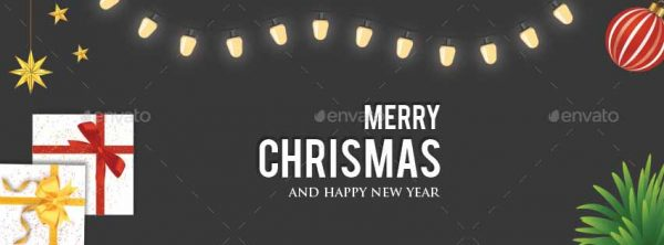 Christmas Facebook Cover Design Sample