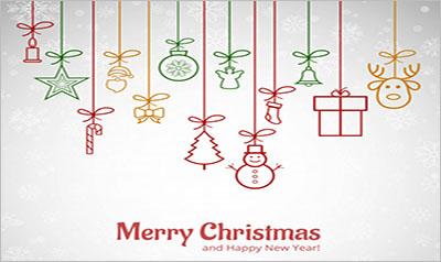 Christmas Greeting Card Templates